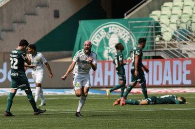 Palmeiras cae sorpresivamente en Cuiabá