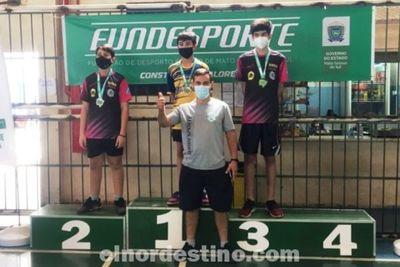 Atletas de nuestra comunidad destacan el nombre de Pedro Juan Caballero en Torneo Escolar realizado en Campo Grande, Brasil