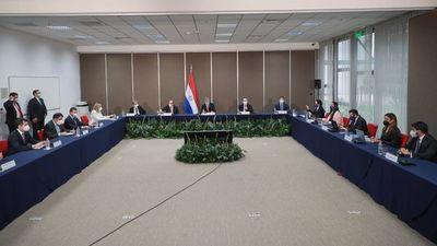 Con la presencia de Mario Abdo inicia visita in situ de evaluadores del Gafilat al Paraguay