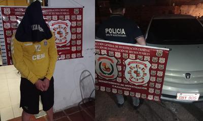 Incautan cocaína y detienen a un hombre en Coronel Oviedo