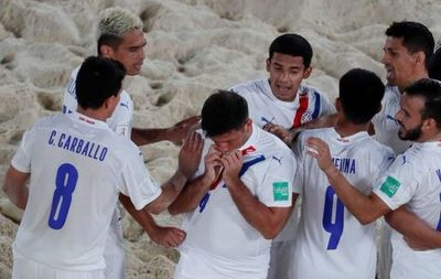 Mundial Fútbol de Playa: Paraguay goleó a Estados Unidos y espera el milagro