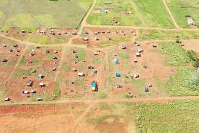 Invasores afirman que tienen apoyo del Estado para tomar tierras privadas en Guarambaré