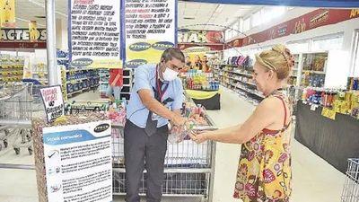 En supermercados ya no tomarán la temperatura a clientes para ingresar