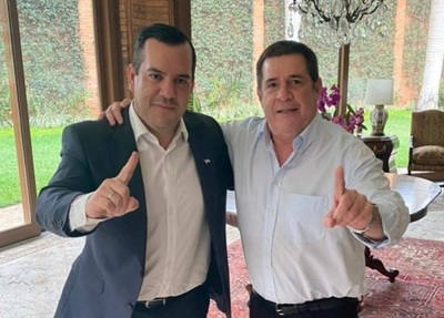 Cartes y Friedmann, juntos en Guairá