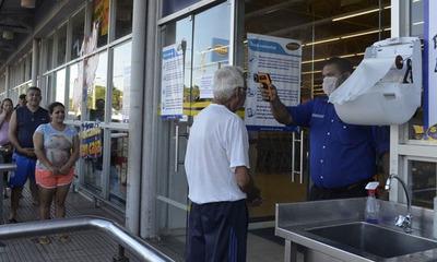 Ya no tomarán la temperatura a los clientes en los supermercados