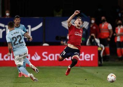 Osasuna y Celta no encuentran el gol en El Sadar