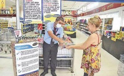 En los supermercados ya no tomarán la temperatura a los clientes