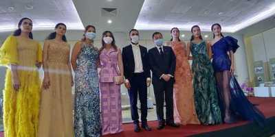 Presentan a finalista paraguayo del Premio de Diseño de Moda de Taiwán
