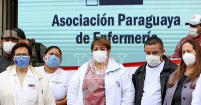 La Nación / Enfermeros se movilizarán mañana por cumplimiento de ley de carrera profesional