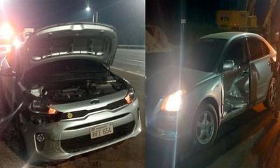 Accidente de tránsito con daños materiales sobre Ruta PY02 – Prensa 5