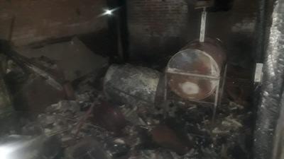 Concepción: Abuelita se salva de morir quemada tras incendiarse su vivienda