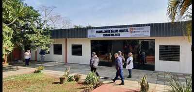 Habilitarán primer Pabellón de Salud Mental del interior del país