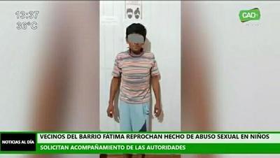 Vecinos del barrio Fátima exigen justicia para niña abusada por su padrastro