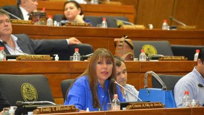 Diputada espera que en PLRA no se abracen con corruptos