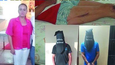 Feminicidio: Le hundieron la cabeza con brutal golpiza