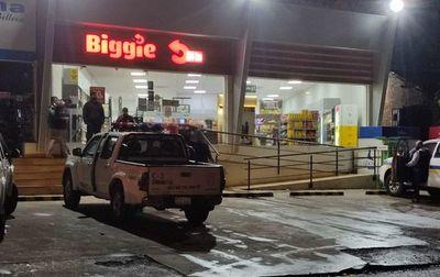 Asaltan una tienda de la cadena Biggie en Luque