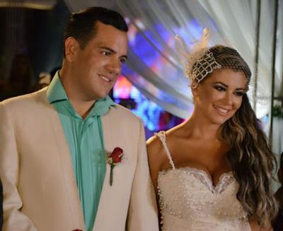 Rodolfo Friedmann y Marly Figuerdo: ¿Lujosa boda a costas del almuerzo escolar?