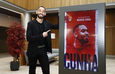 Atlético de Madrid ficha a Matheus Cunha