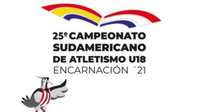 ESTUDIANTE DE LA UNAE CREA LOGO Y MASCOTA PARA EL SUDAMERICANO DE ATLETISMO U18
