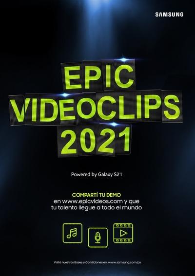 """""""Epic Videoclips 2021"""": Samsung Paraguay lanza concurso para músicos"""