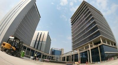 Avance de las nuevas oficinas del Gobierno fueron verificadas
