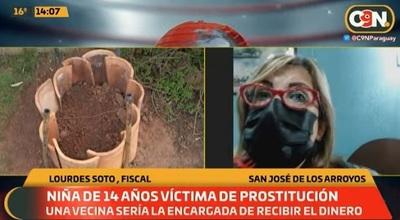 Niña de 14 años era prostituida por su vecina en San José, denuncian