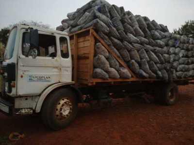 Incautan camión con cargamento de carbón en Itakyry