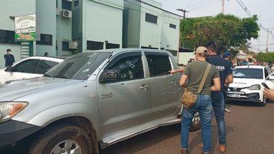 Doble homicidio tras ataque a tiros a una camioneta en Pedro Juan Caballero