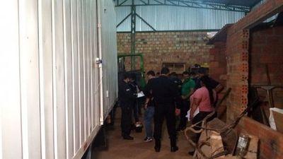Roban camión con celulares y se recupera gracias a GPS en Minga Guazú