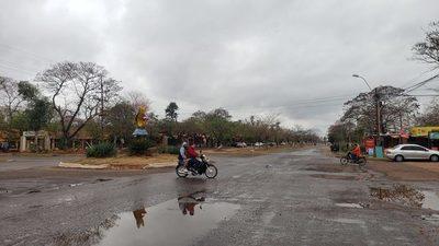 Jornada fresca con lluvias para Concepción