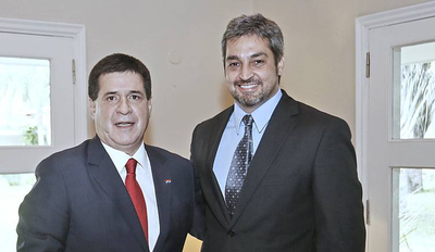 Encuentro oficial entre Marito y Cartes podría darse en un acto de la ANR en Coronel Oviedo