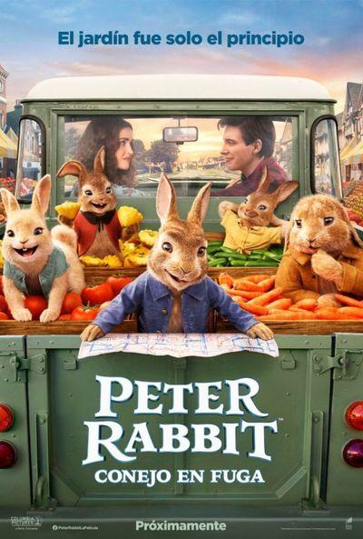 Peter Rabbit: Conejo en fuga (2D)