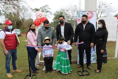 Municipalidad inaugura pozo artesiano en Coronel Oviedo