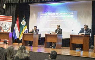 Candidatos critican actual gestión municipal en CDE