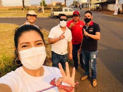 Usan programa Tekoporã para pedir votos a candidata de la ANR en Pedro Juan Caballero