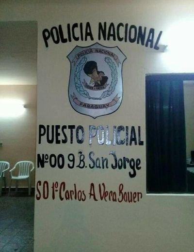 Preso se escapa de puesto policial de San Antonio