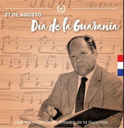 Día Nacional de la Guarania en homenaje a su creador José Asunción Flores