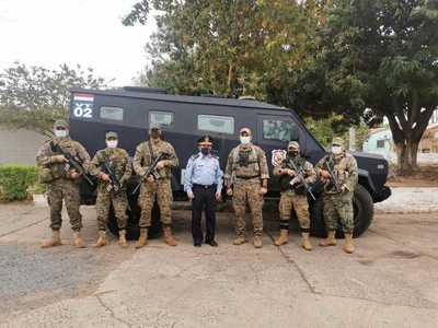 Entregan vehículo blindado a Unidad Táctica