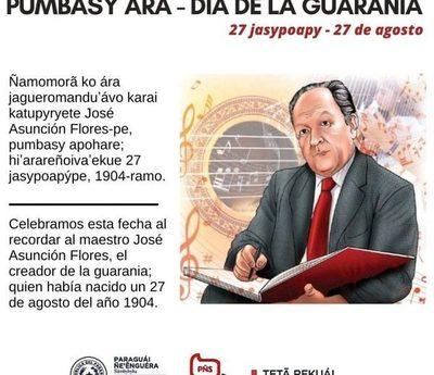 Hoy se celebra el Día de la Guarania y el natalicio de su creador