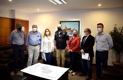 Representantes de la ARP coordinan acciones con la SEN ante ola de incendios