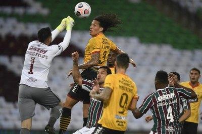 Williams Riveros, el paraguayo que desafía a los brasileños en la Libertadores