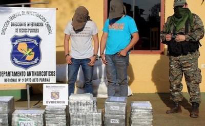 Allanamiento deja un presunto jefe narcotraficante detenido en CDE