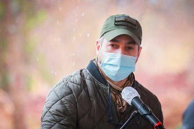 Mario Abdo pide no más derramamientos de sangre en el norte durante visita a Concepción