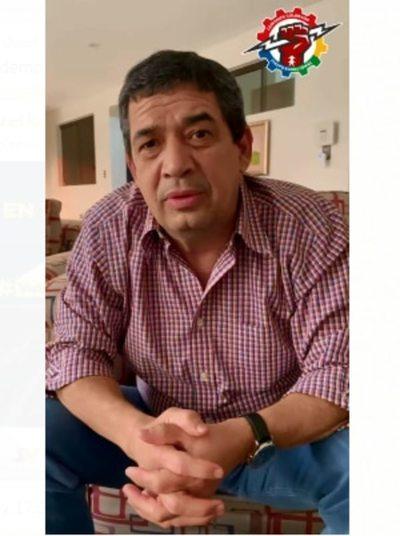 """Vicepresidente, en abierta campaña proselitista, ofrece """"reivindicaciones"""" a funcionarios de Itaipú"""