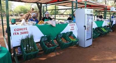 Feriantes de Misiones recibieron insumos para respaldar sus productos