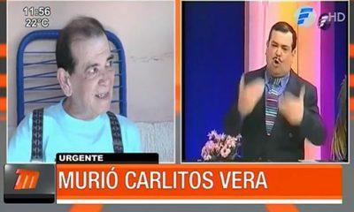 Falleció Carlitos Vera, gran humorista paraguayo