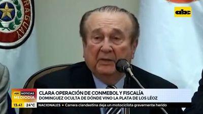 Alejandro Domínguez ocultó de dónde vino la plata de los Leoz
