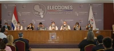 """Justicia Electoral mantuvo """"positiva"""" reunión con apoderados para las municipales"""