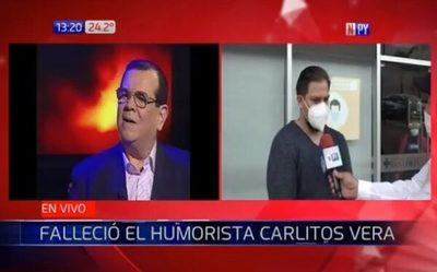 Carlitos Vera pidió ser velado con traje de lentejuelas, cuenta su hijo