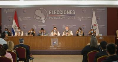 La Nación / Apoderados de partidos son actualizados en logística y auditoría electoral